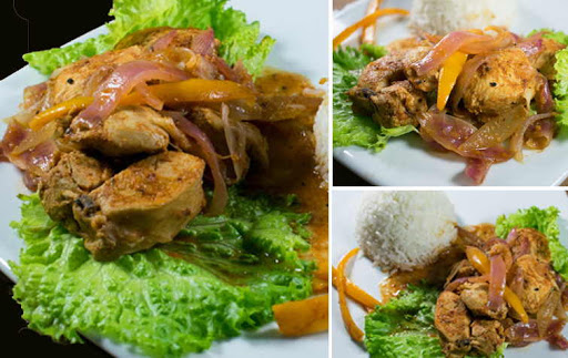 ceviche de pollo peruano