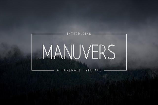 Manuvers - Handmade Sans Download Font Free