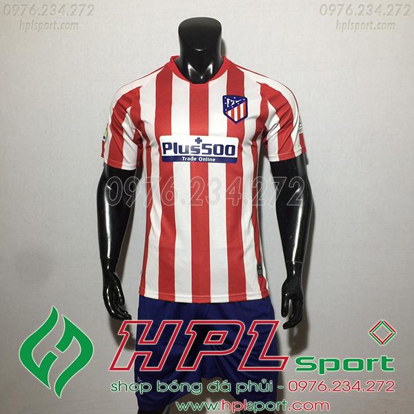 Áo câu lạc bộ  Atletico màu đỏ trắng 2020