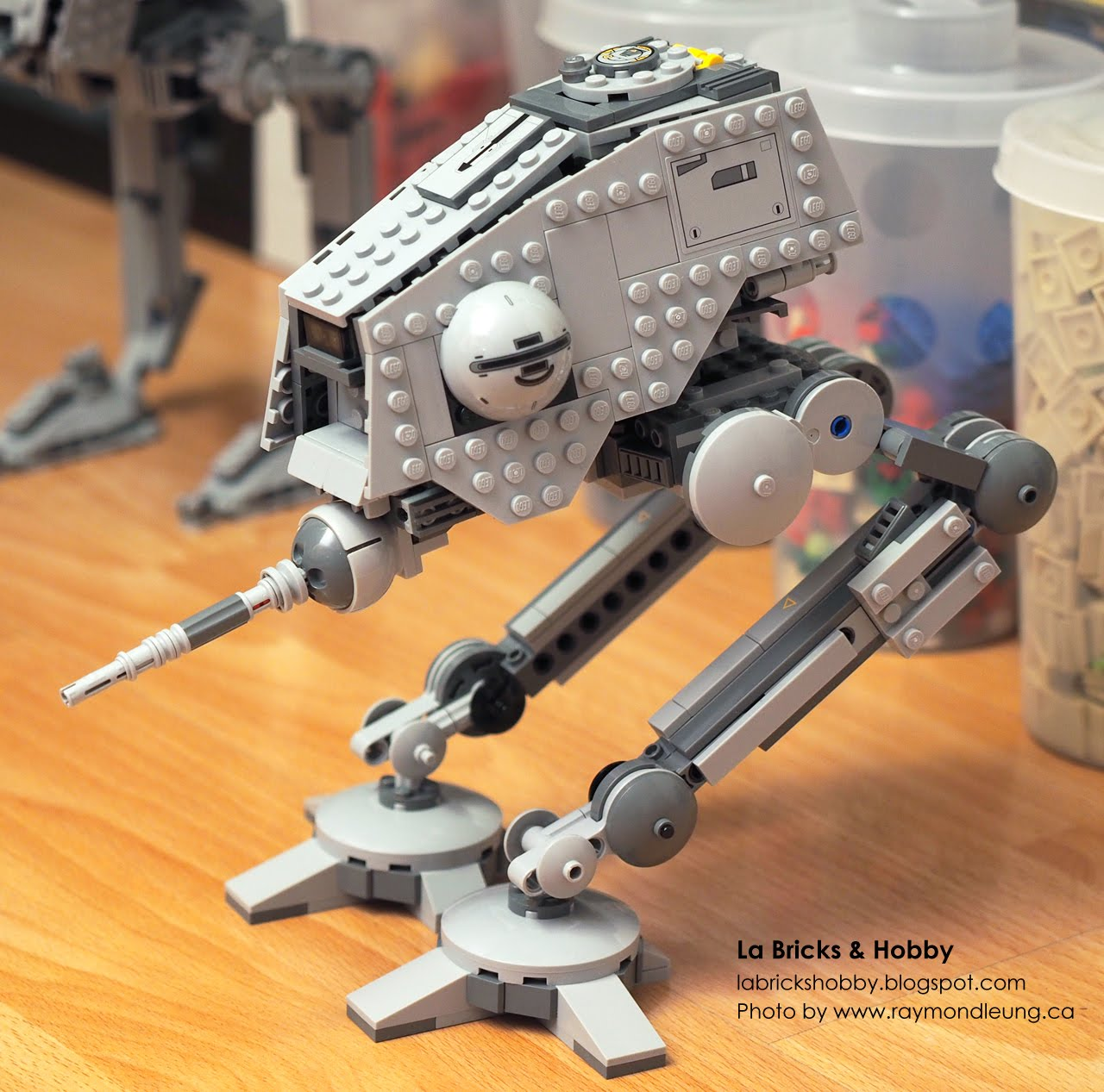 La Bricks & Hobby: LEGO Star Wars AT-DP Modification
