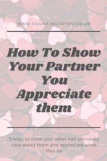 How to show your partner you appreciate them