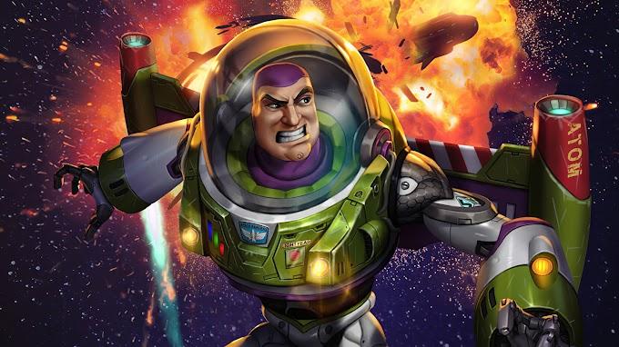 Plano de Fundo Buzz Lightyear
