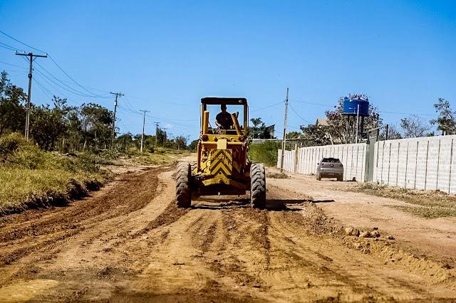 Recuperação de 6 km de vias para área rural do Gama