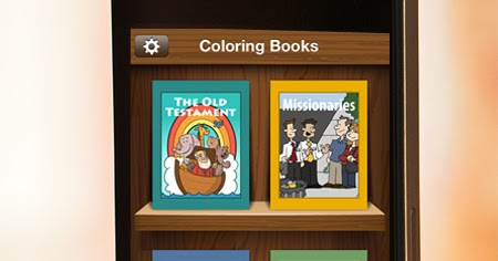 A Year Of FHE LDS App For Kids COLORING BOOKS