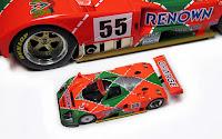 kyosho 1991 Le Mans Winner Mazda 787b
