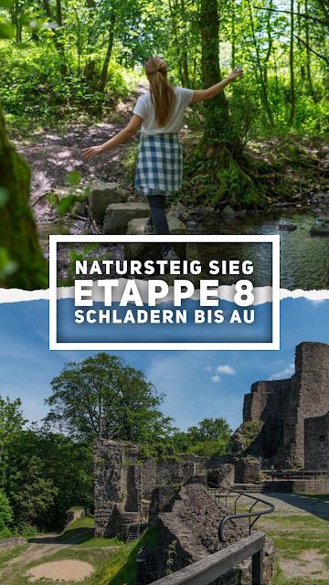 Natursteig Sieg Etappe 8 Schladern bis Au (Sieg)  Wandern im Siegtal 21