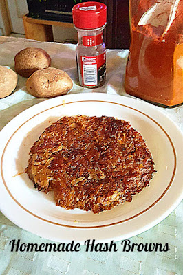 Homemade Hash Browns Recipe @ treatntrick.blogspot.com