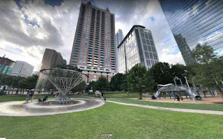 Discovery Green is a public urban park in Houston