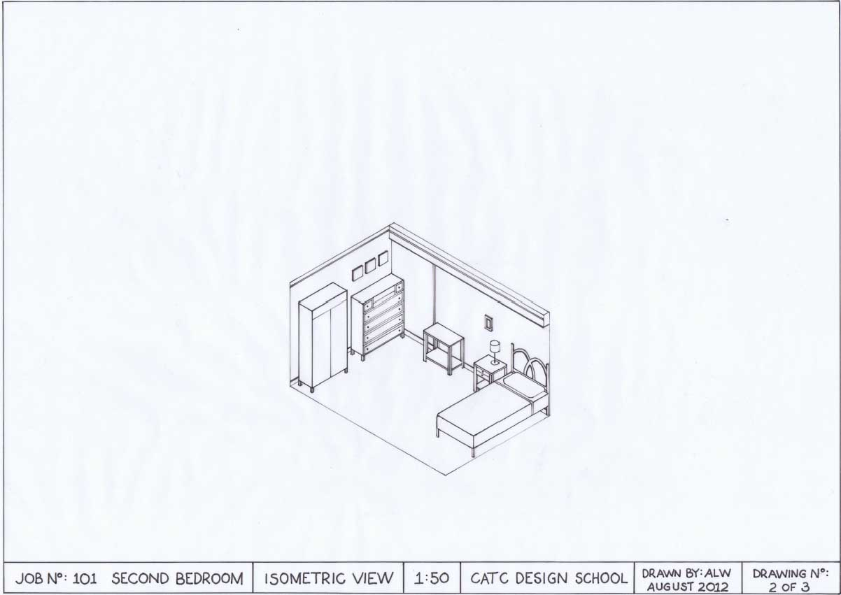 Interiors C3id002b Isometric Drawing Assessment 04