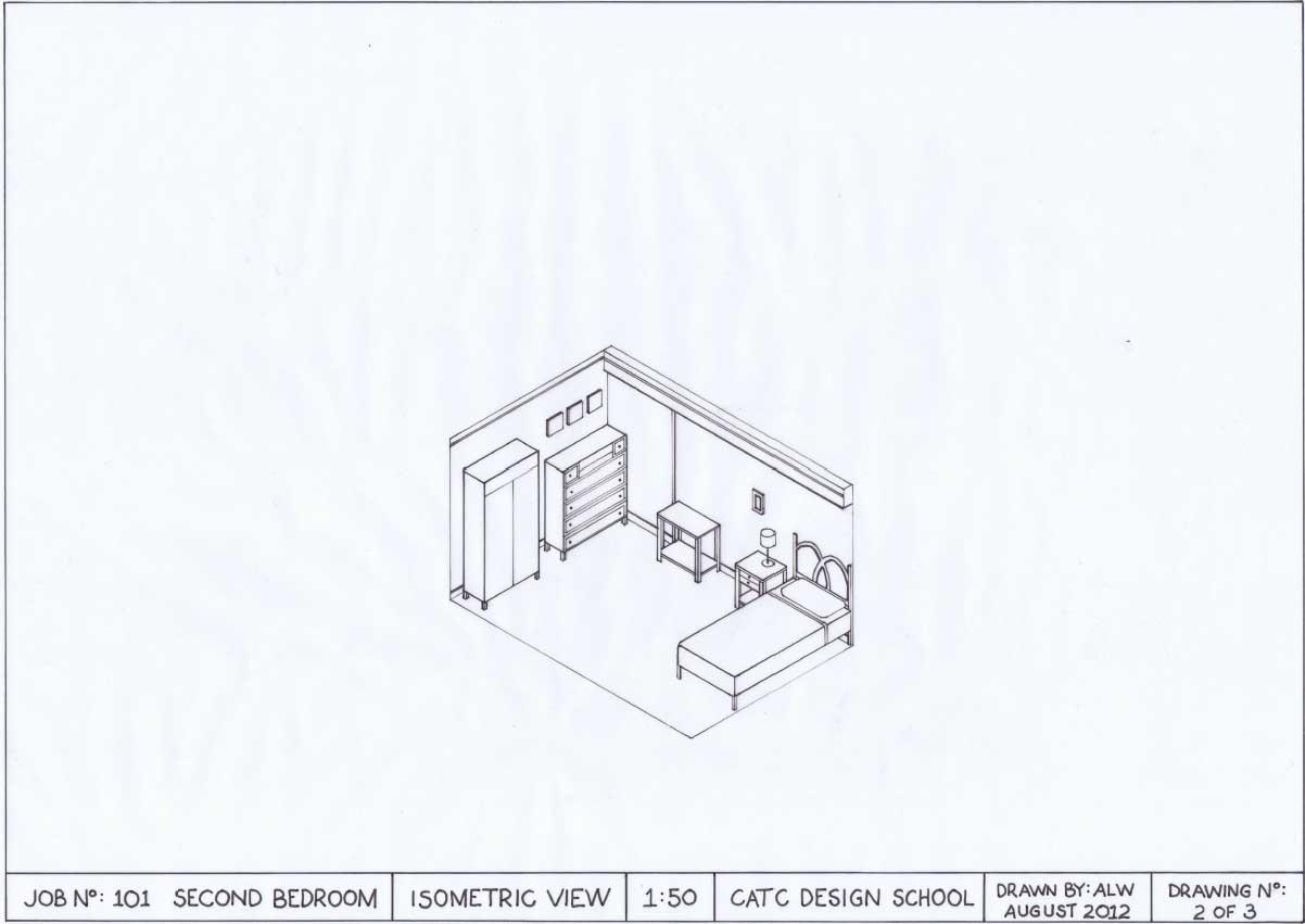 Interiors C3id002b Isometric Drawing Assessment 04