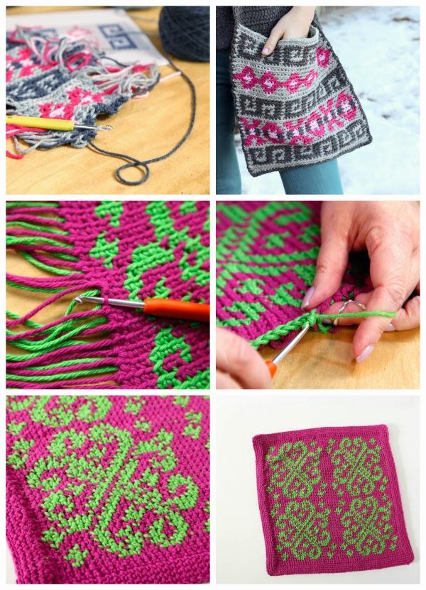Fair Isle Crochet tutorial