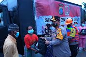 Kapolda Sumut Serahkan Bantuan 1.000 Paket Sembako untuk Korban Banjir di Batubara