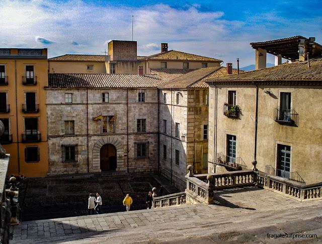 Praça da Catedral de Girona, Catalunha