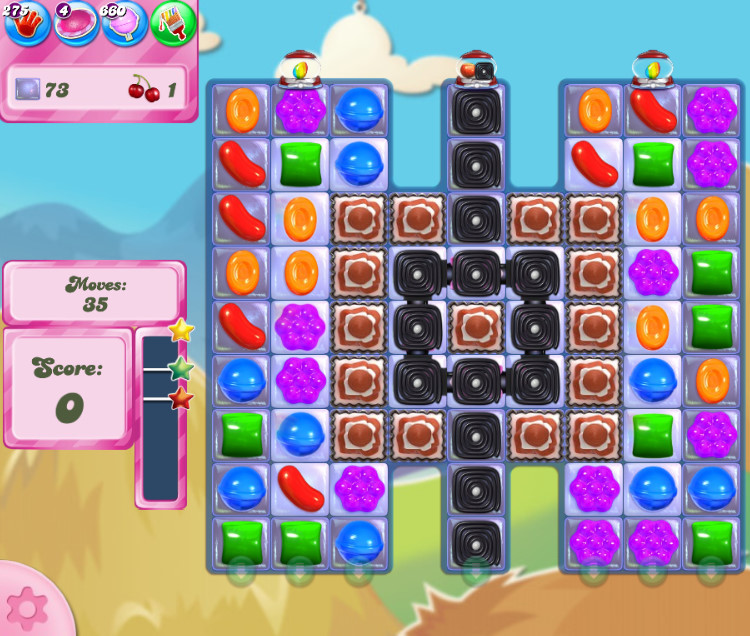 Candy Crush Saga level 2695