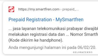 Cara Registrasi Kartu Smartfren 4G LTE - geloratekno.com