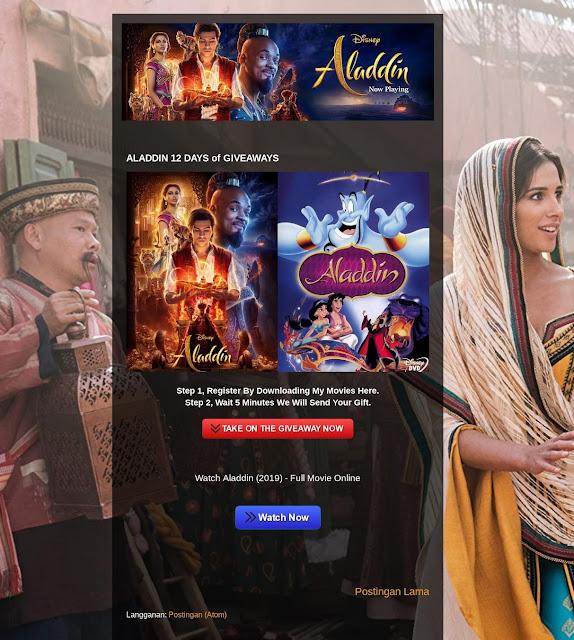 Landing Page Blogspot Halaman Depan