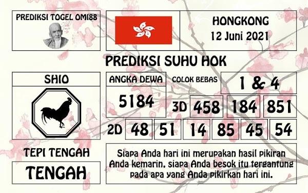 Kode angker prediksi hk 12 juni 2021