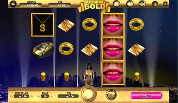 Main Gratis Slot Indonesia - Booming Gold Booming Games