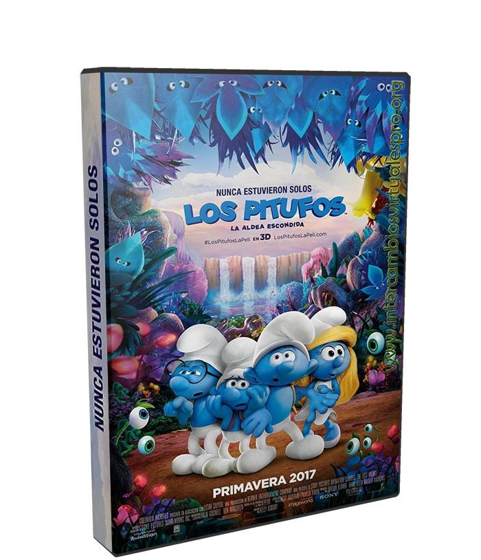 Los Pitufos en la aldea perdida poster box cover