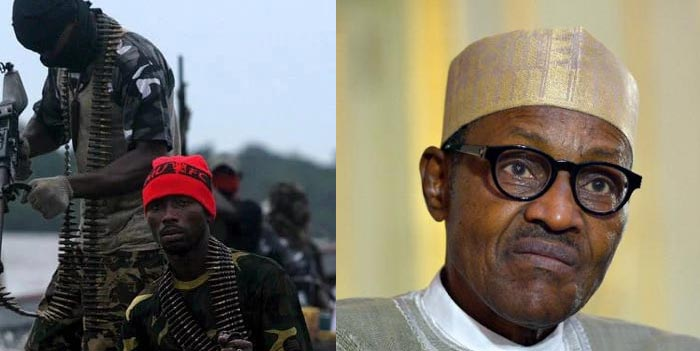 Militants blast Buhari for meeting with Niger Delta leaders, says no peace in region