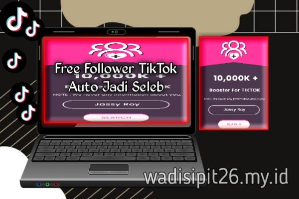 aplikasi dan situs web penambah follower tiktok gratis terbaru 2021