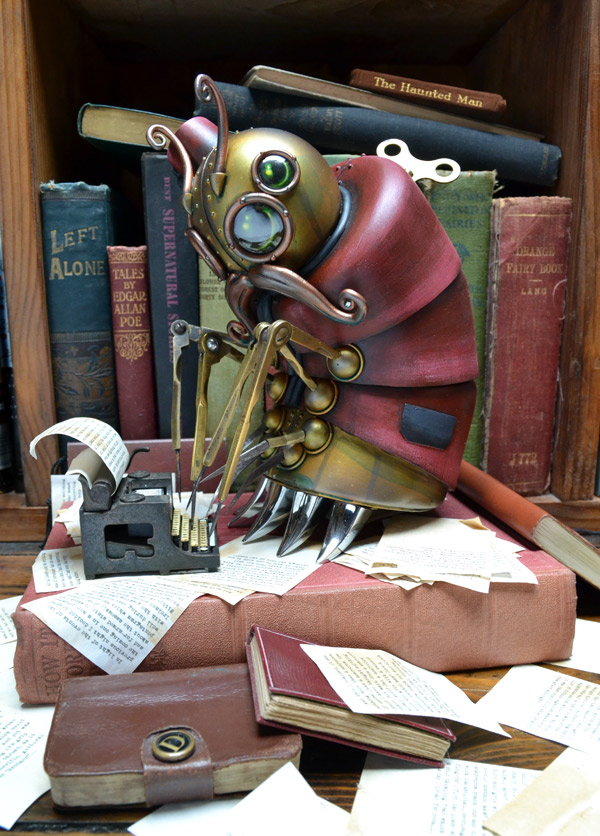 Steampunk Inspired Montague Sculpture Is Just Amazing