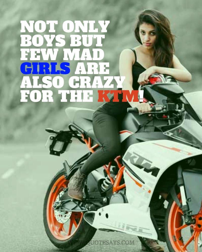 Ktm Quotes, Ktm Bike Quotes, Ktm Bike Captions