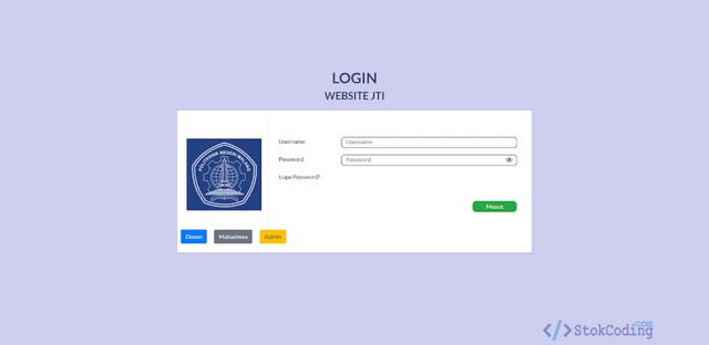 Aplikasi Akademik Kampus Berbasis Web (PHP)