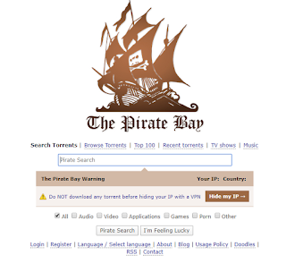 ThePiratebay - Situs Download Toorent Terbaik Saat Ini