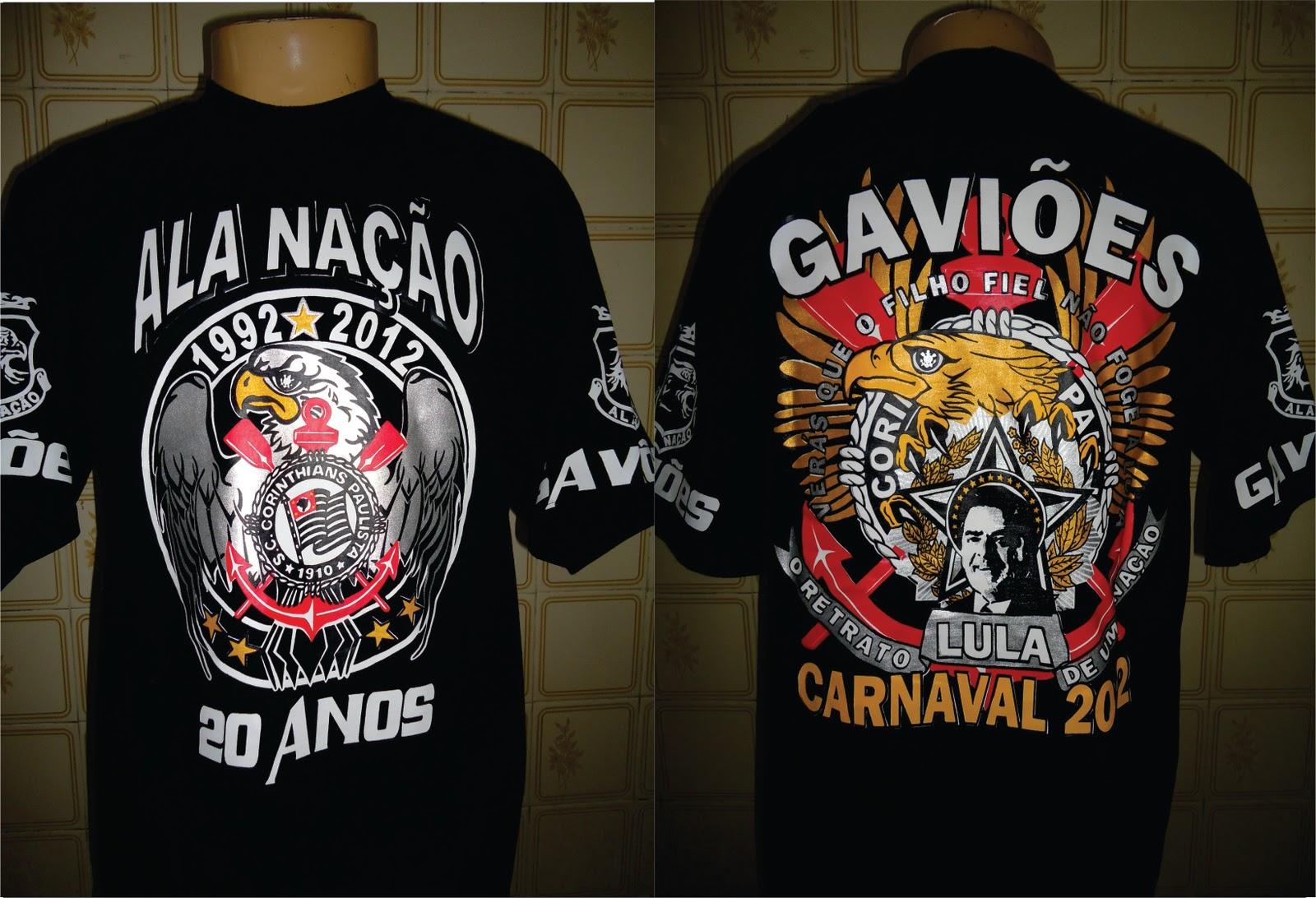 Camisa Ala Nação Carnaval 2012 a5fe832f0e350