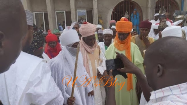 Breaking News: Deposed Emir Sanusi Currently Preparing To Leaves Awe With El-Rufai