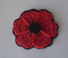 crochet poppy patterns free