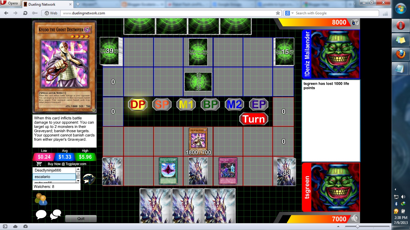 Online Card Games Escalario July 2013