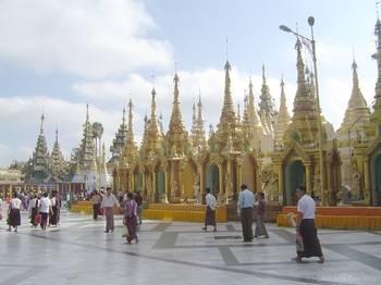 Pagoda Shwedagon Hinstinct