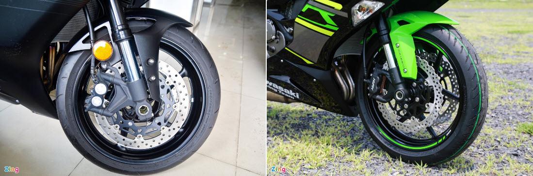 Tầm giá trên 500 triệu đồng, chọn Yamaha R6 hay Kawasaki ZX-6R?