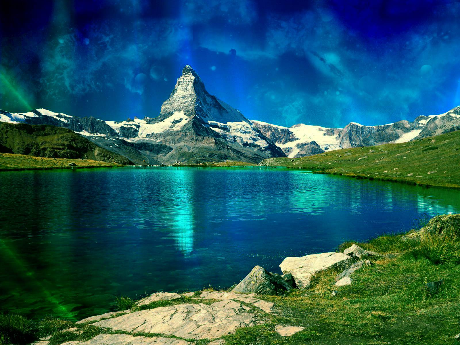 vista wallpaper by gr3en v2 by gr3en chronic Wallpaper clock vista