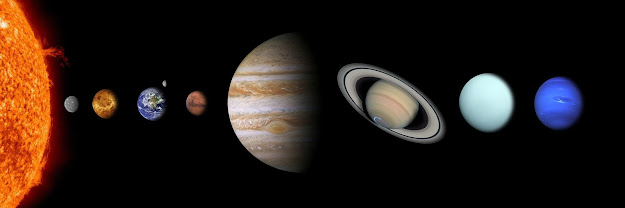 What is the order of the planets from the sun?