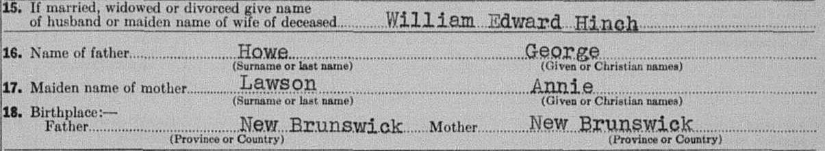 british columbia canada bc archives death certificates british columbia archives victoria 1947 09 002837 1947 laura sophia hinch bc archives