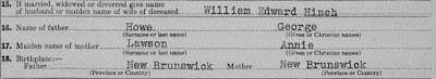 British Columbia, Canada B.C. Archives,  (Death Certificates, British Columbia Archives, Victoria),  1947-09-002837 (1947), Laura Sophia Hinch; B.C. Archives B13193.