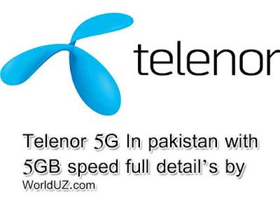 telenor 5g in pakistan