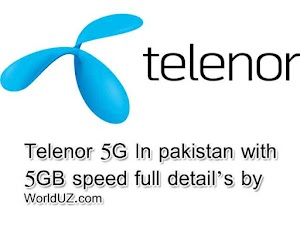 telenor 5g in pakistan and launch date