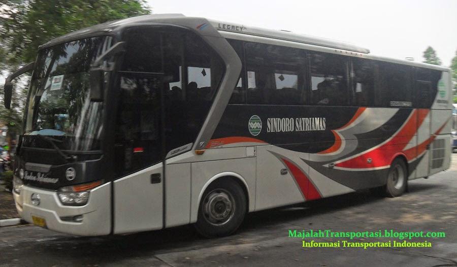 rute dan tarif bus sindoro satriamas