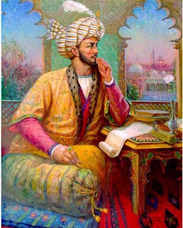 Babur thinking Gay Homosexual thoughts for his slave boy Baburi Babri