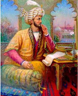 Babur thinking Gay Homosexual thoughts for his slave boy Baburi Babri