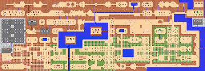 Mapa The Legend of Zelda