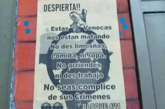 GRAVE | Carteles promueven la xenofobia en varias calles de Colombia