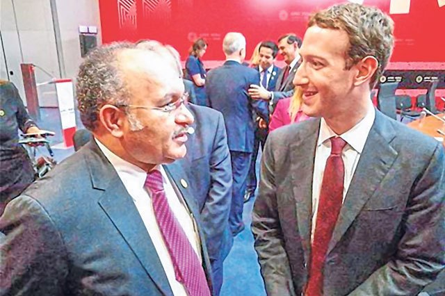 PNG Prime Minister questions facebook CEO Zuckerberg | Papua New