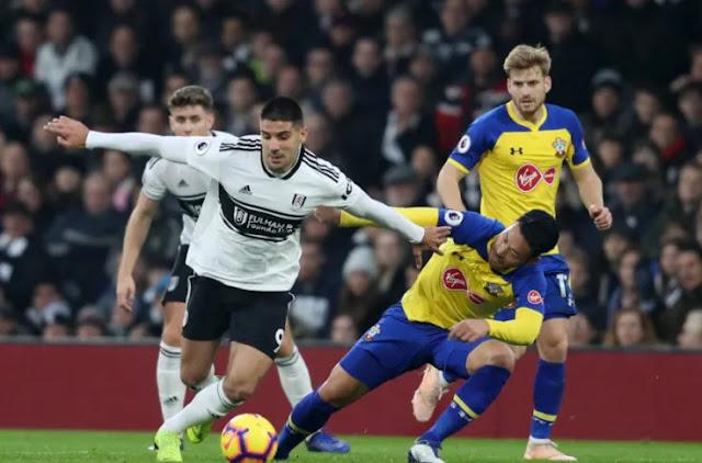 Southampton VS Fulham on K24 TV Photo