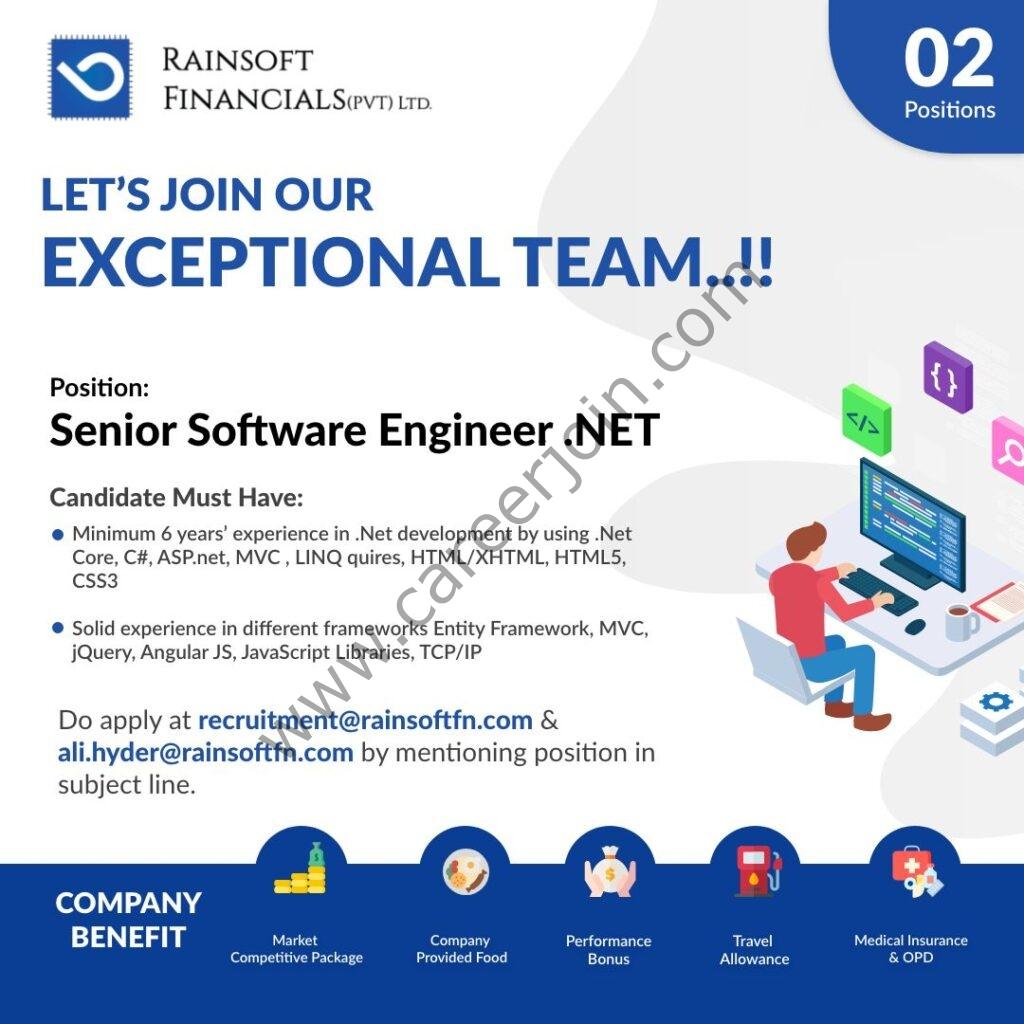 recruitment@rainsoftfn.com - Rainsoft Financials Pvt Ltd Jobs 2021 in Pakistan