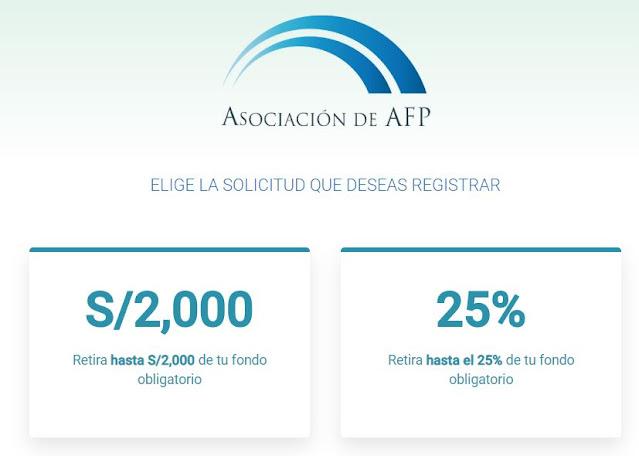 Que tipo de cuenta aperturar para depositar el 25% AFP